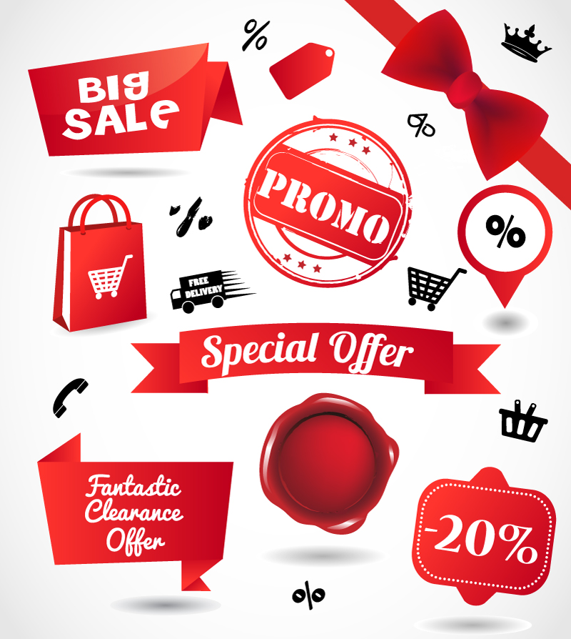 Big Sale Promo Vector