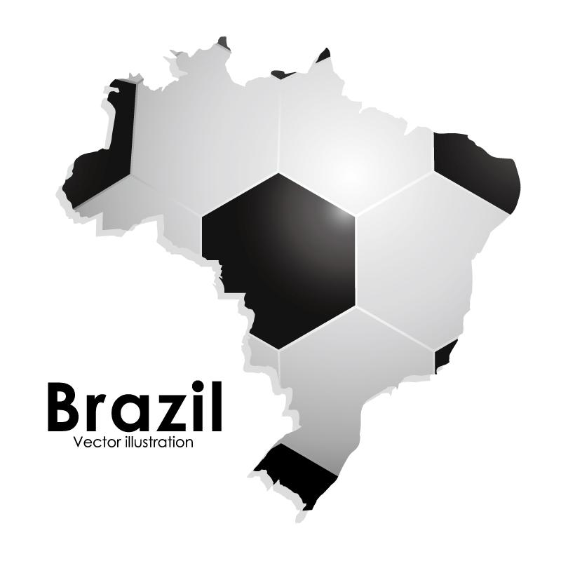 Brazil Soccer Vector
