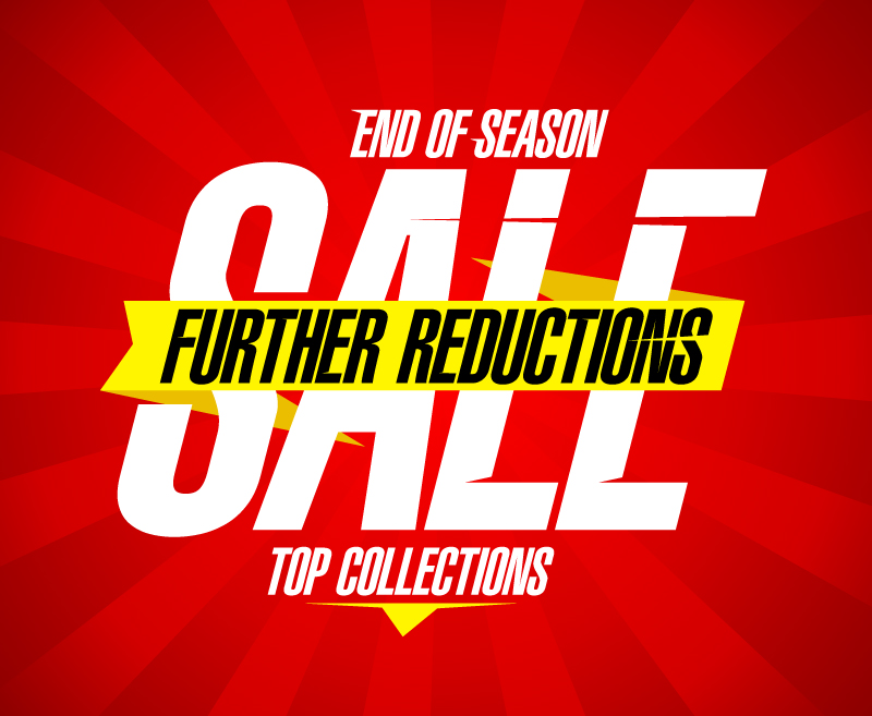 End of Season Sale Vector