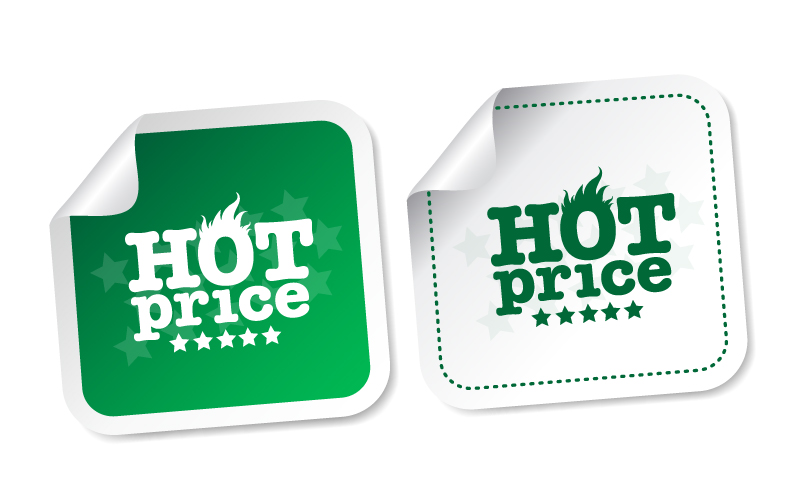 Hot Price Sale Vector