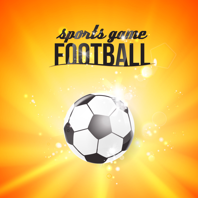 Sport Game Soccer Vector