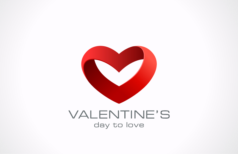 Valentine's Day To Love Vector