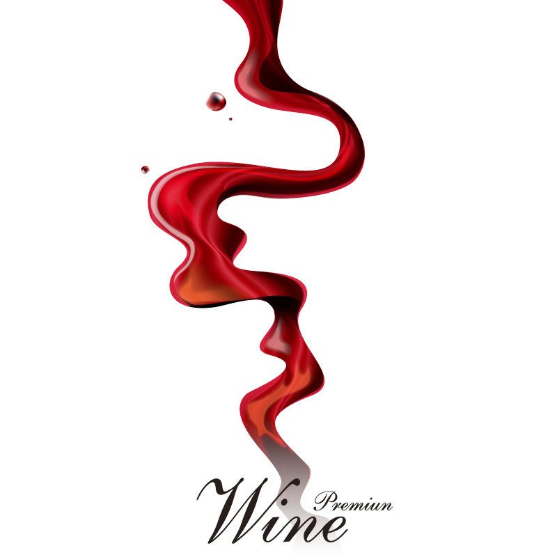 dynamic wine poster vector free vector graphic download