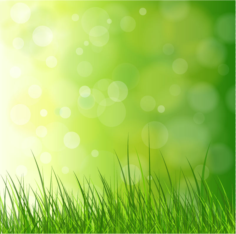 Fantasy Grass Background Vector