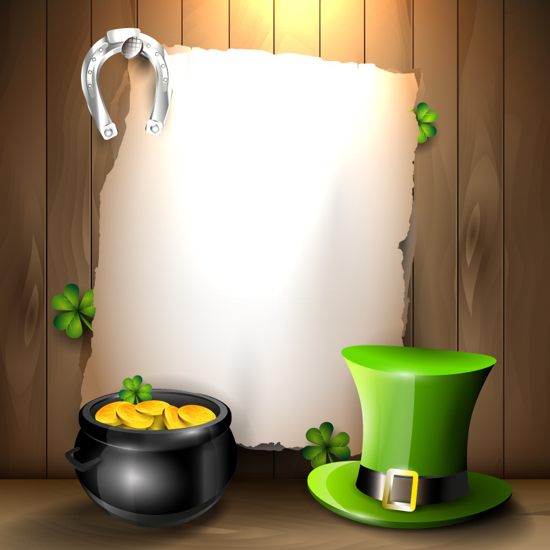 St. Patrick's Day Spotlight Vector