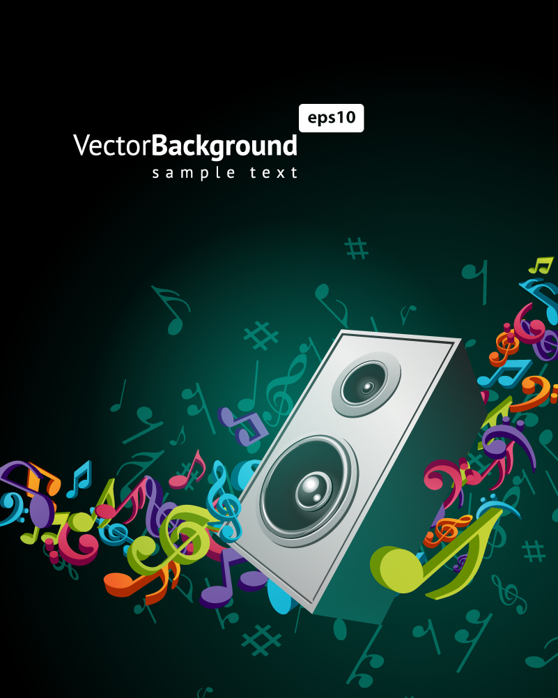 Speaker-Notes-Background-Vector