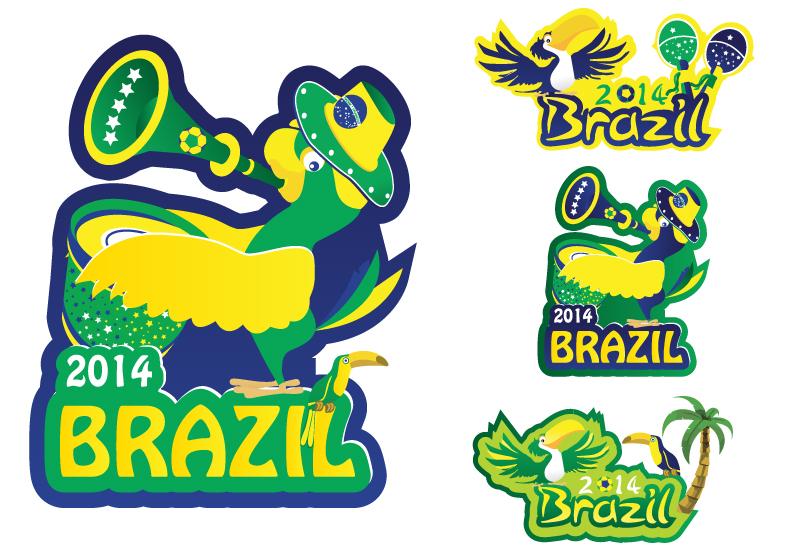 2014 Brazil Vector