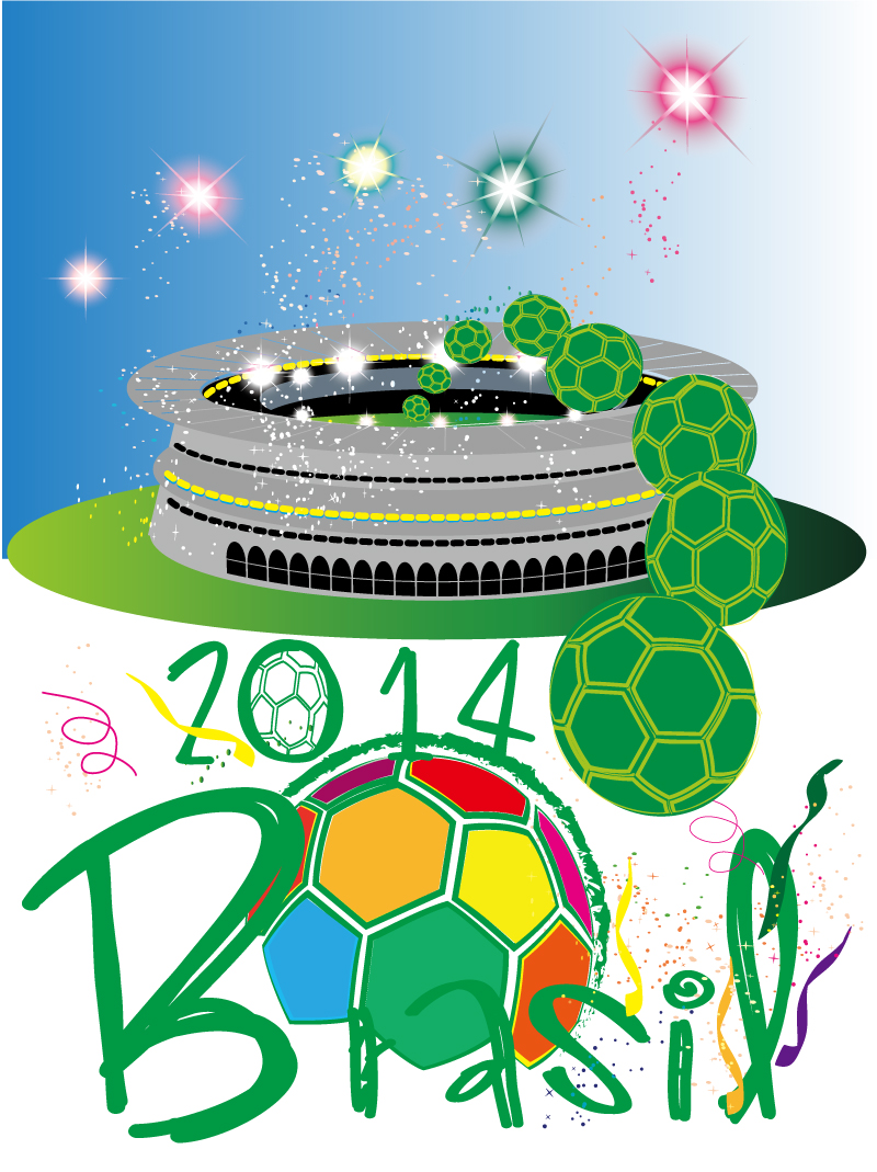 2014 Brazil World Cup Vector