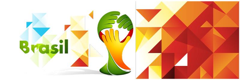 Brazil Mascot Banner Vector