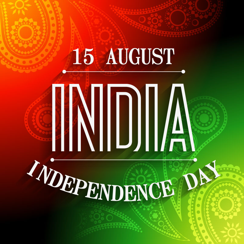 Independence Day India Pattern Background Vector
