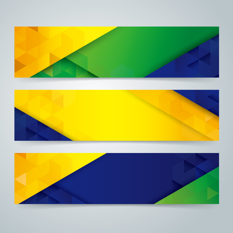 World Cup Color Banner Vector