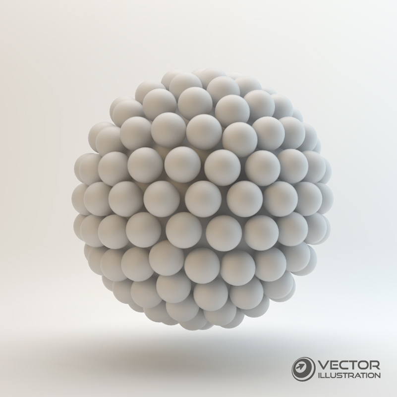 Egg Shaped Structure Vector