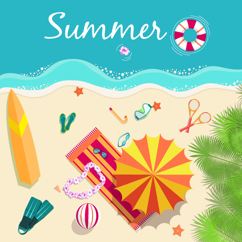 summer vector illustraitons - photo #11