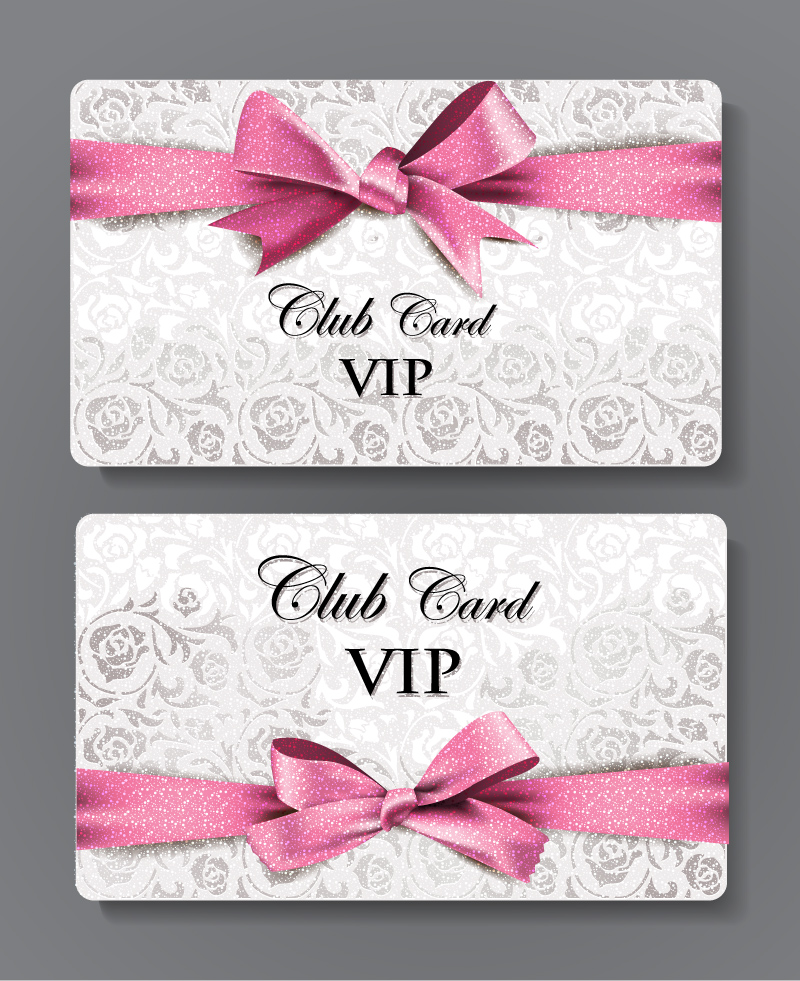 Club Card VIP Vector
