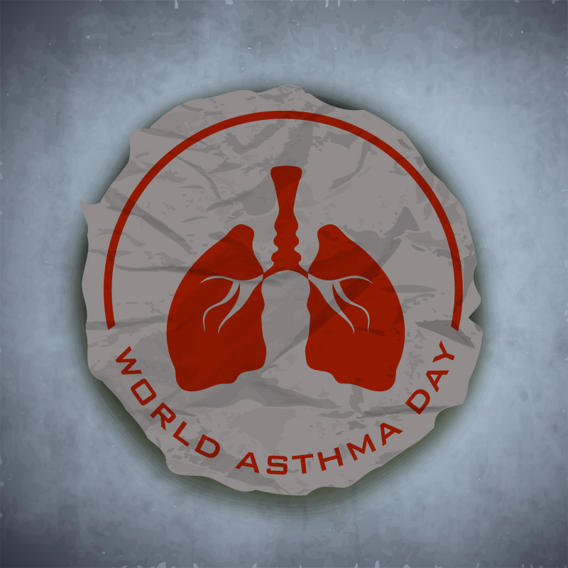 Retro-World-Asthma-Day-Vector