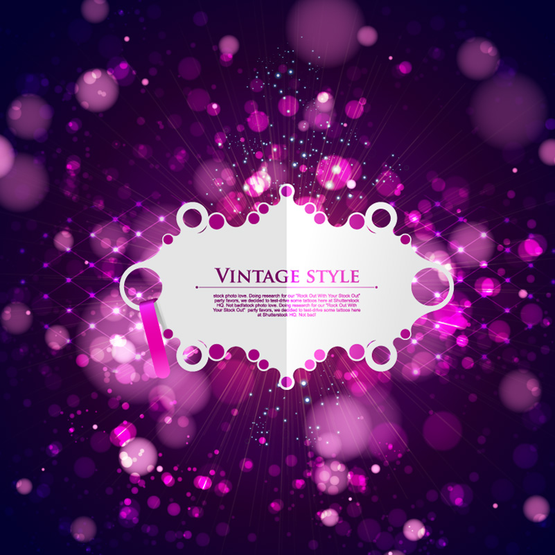 Vintage Style Background Vector
