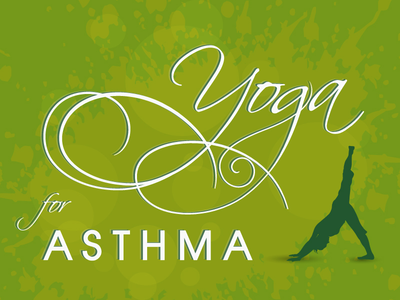 World Asthma Day Yoga for Asthma Vector