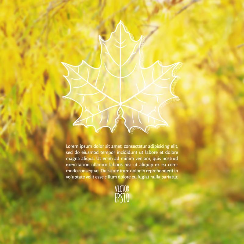 Akiba Blurred Background Vector