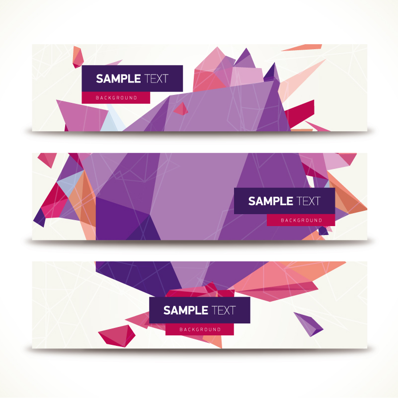 Geometric Banner Vector | Free Vector Graphic Download