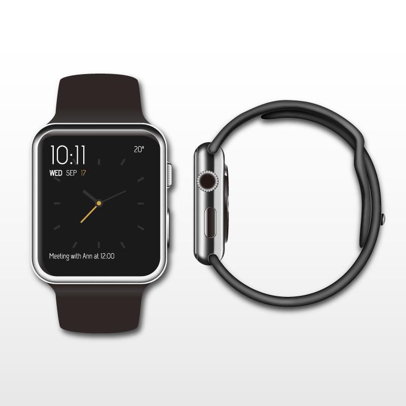 Apple Watch Vector