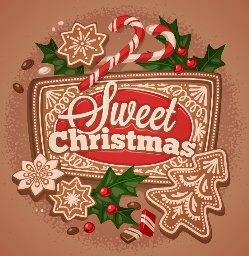 Sweet Christmas 2015 Vector | Free Vector Graphic Download