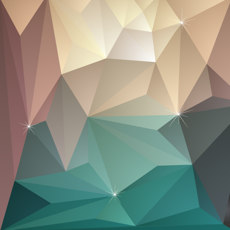 3d Triangle Geometric Background Design Vector