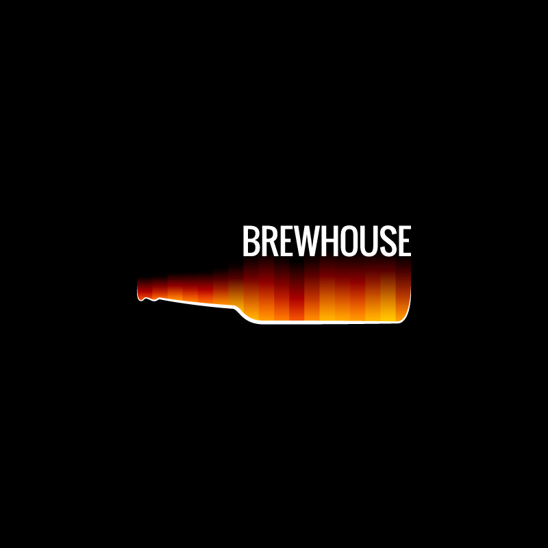 Abstract Brewhouse Design Vector