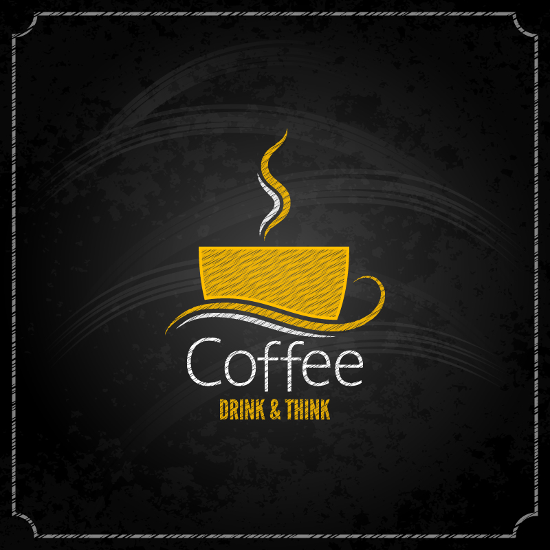 Coffee Drink Think Vector