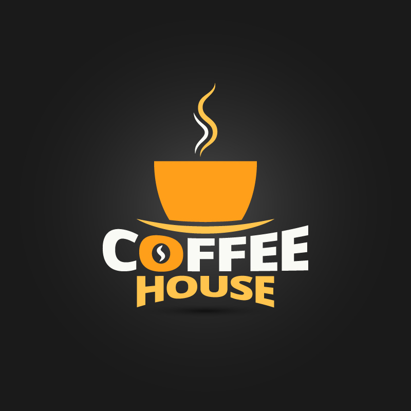 Coffee House Cup Design Vector