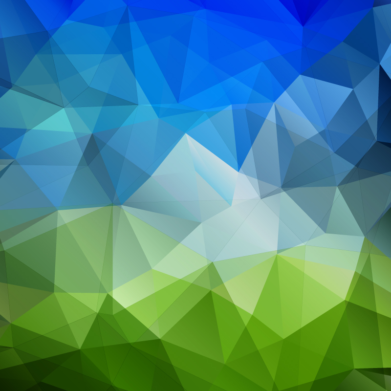 Overlapping Geometric Background Design Vector
