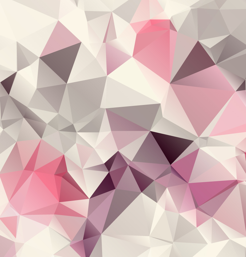 Pink Geometric Background Design Vector
