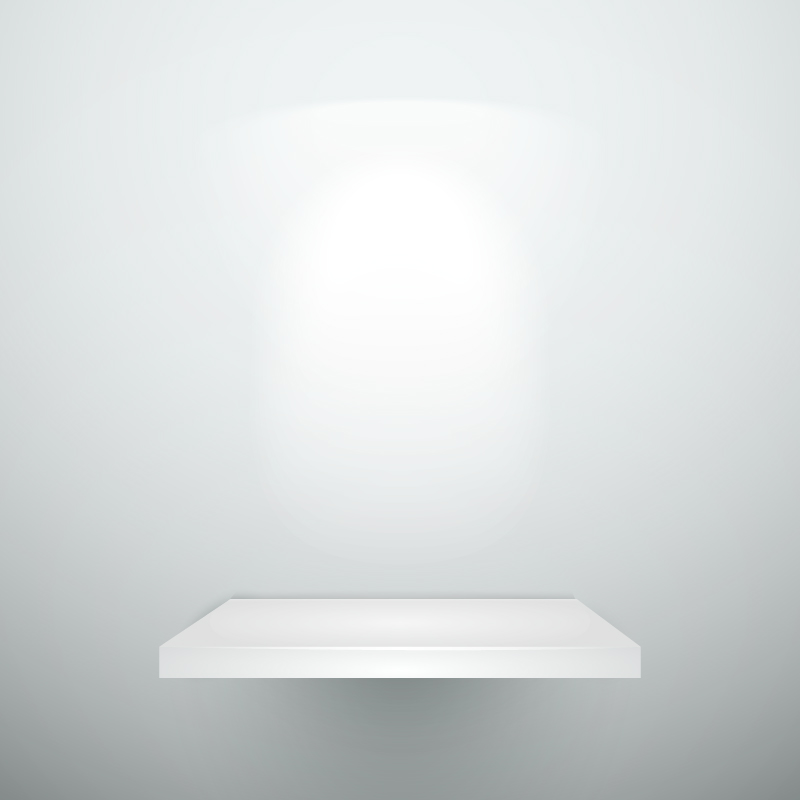 Blank Light Vector