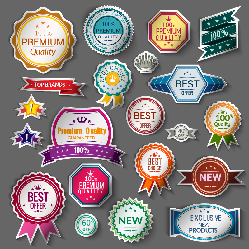 New High-Quality Label Vector