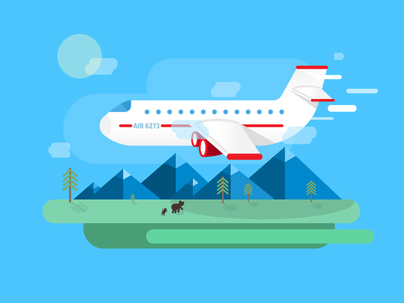 Transport Travel Vector