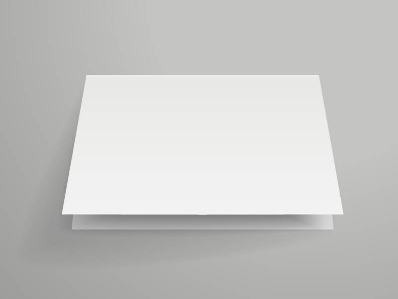 Blank Paper Books Vector
