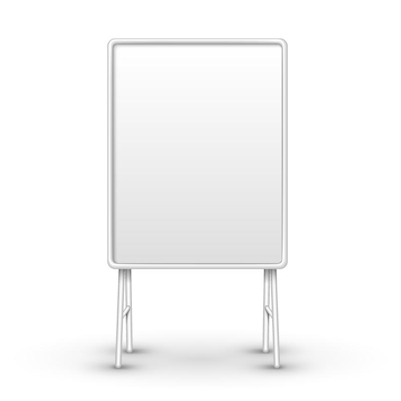 Blank Sketchpad Vector