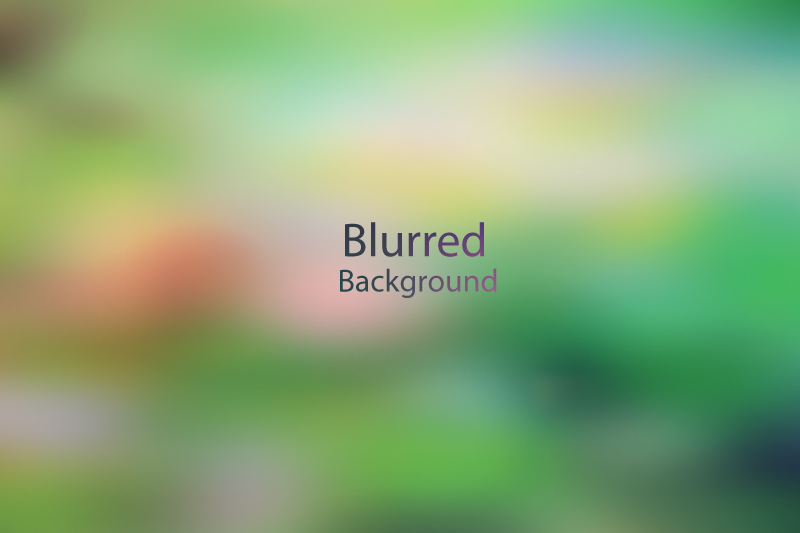 Blurred Background Vector