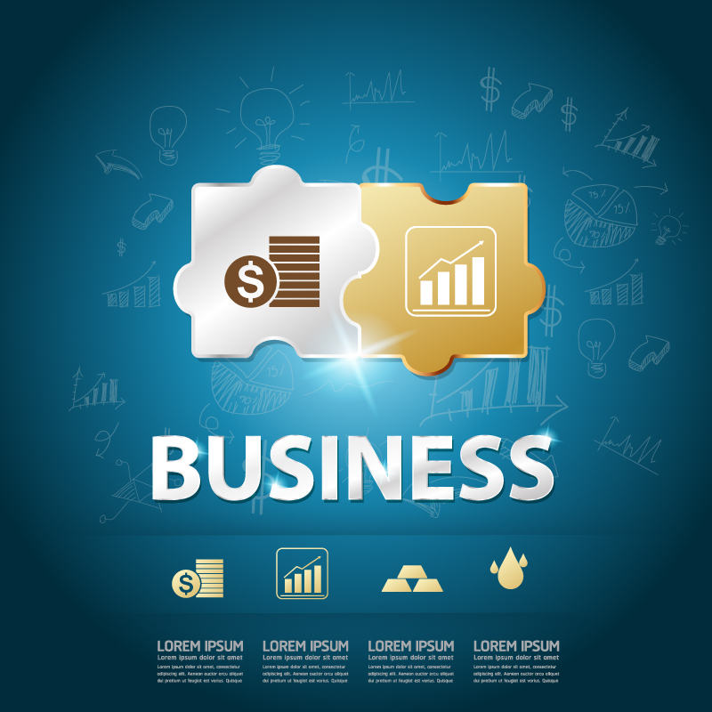 Finance Business Chart Vector