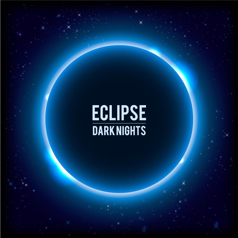 Eclipse Dark Nights Vector