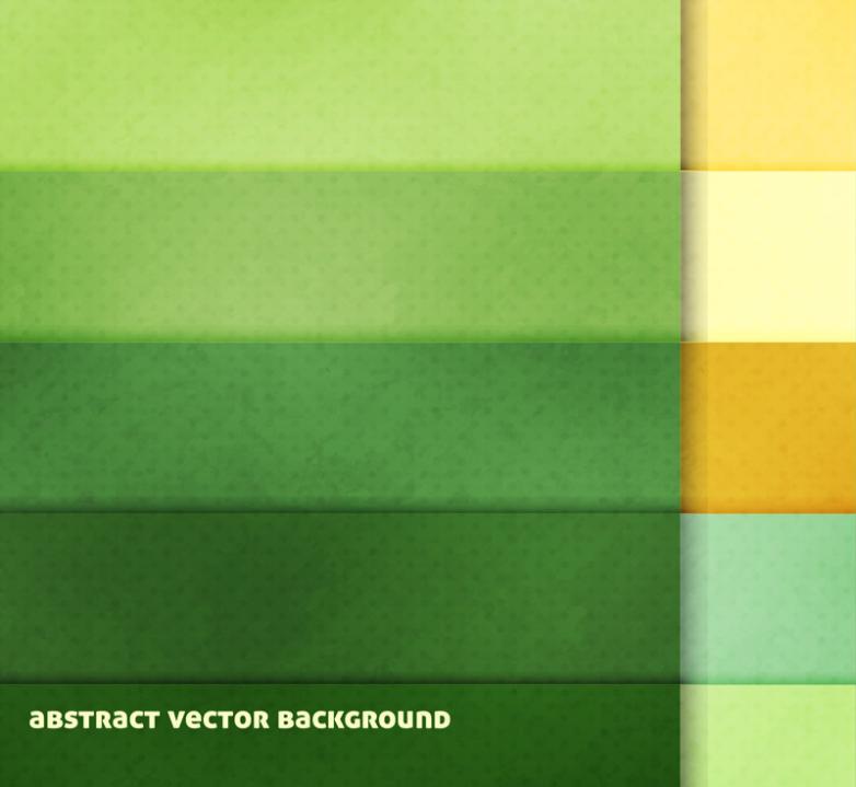 Creative Green Cross Lattice Vector Background