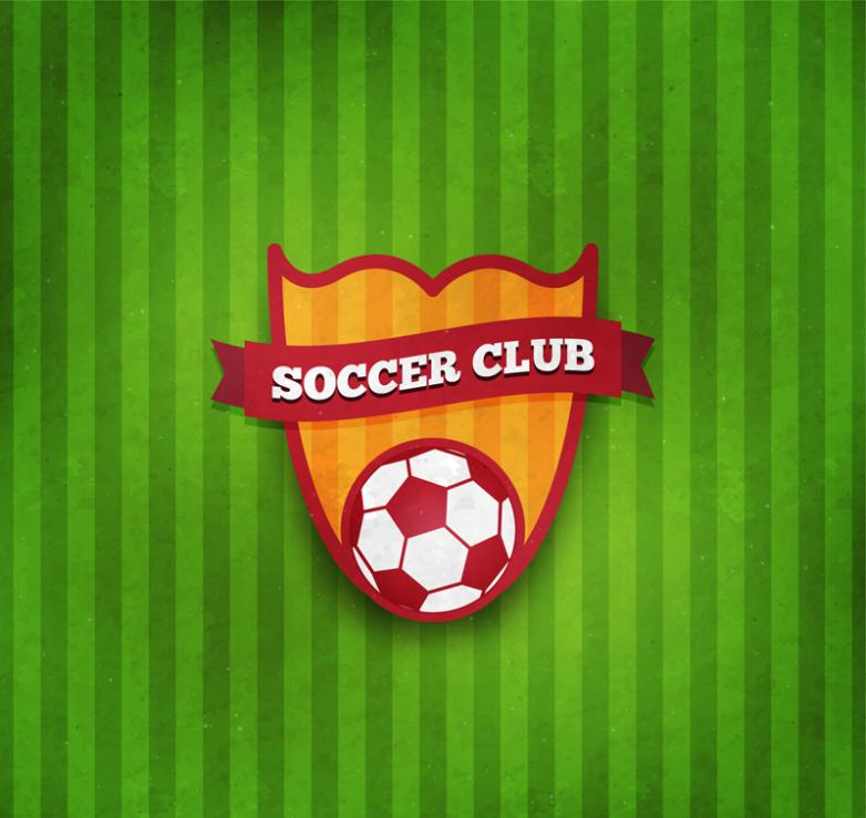 Label Vector Texture Football Club