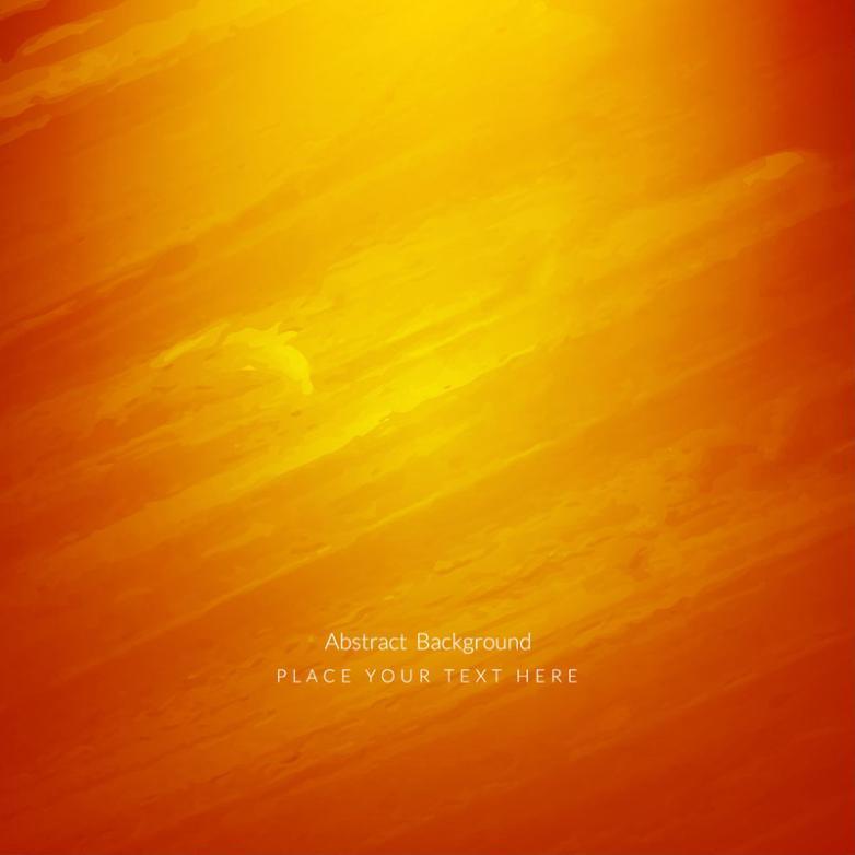 Orange Fine Twill Background Vector
