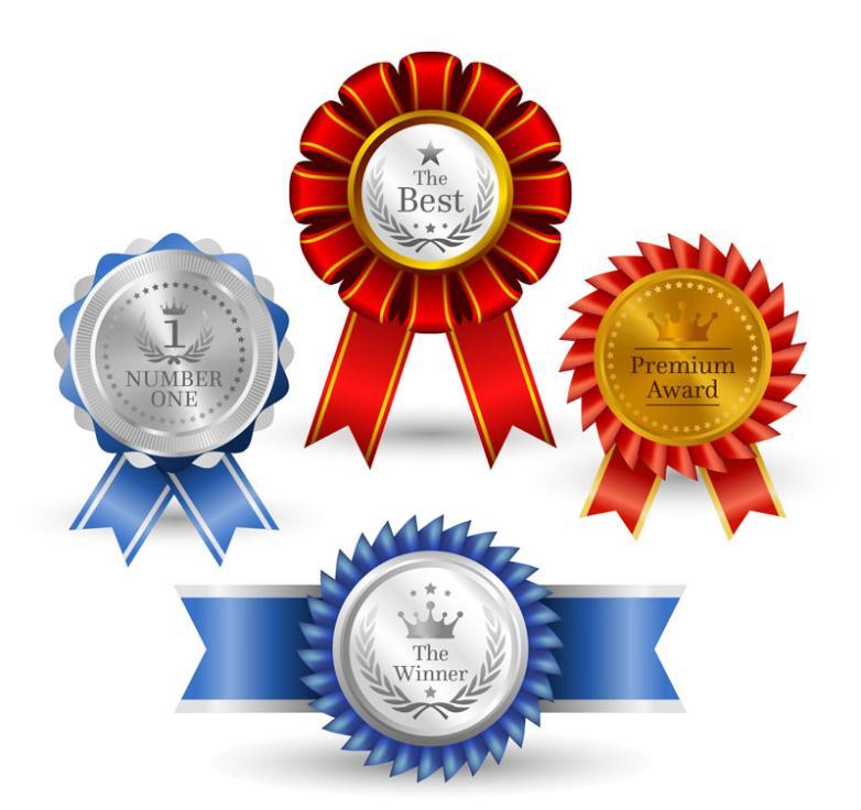 4 Exquisite Badge Design Vector