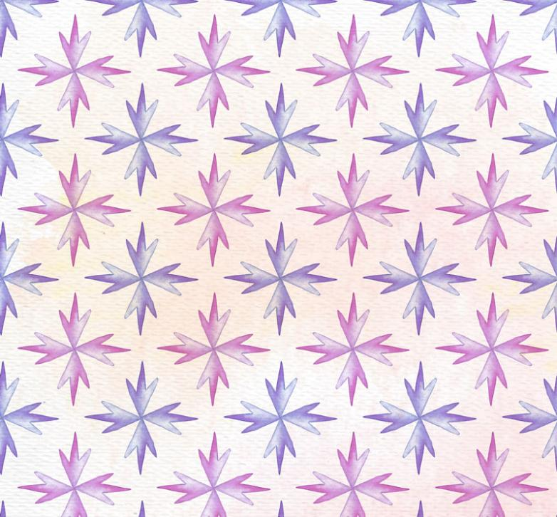 Purple Crystal Pattern Seamless Background Vector