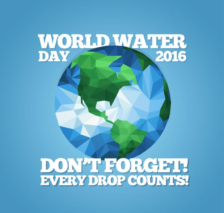 Creative Posters World Water Day Vector