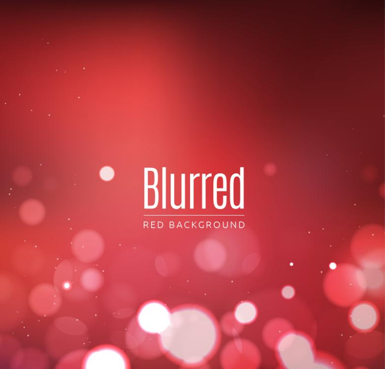 Red Background White Halo Blurred Background Vector