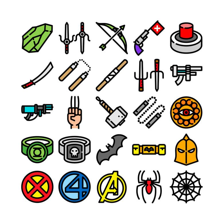 20 Creative Game Icon Vector