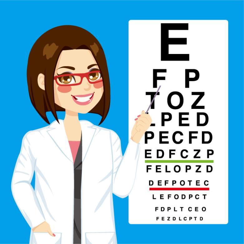 Cartoon Point End Female Doctor Vector