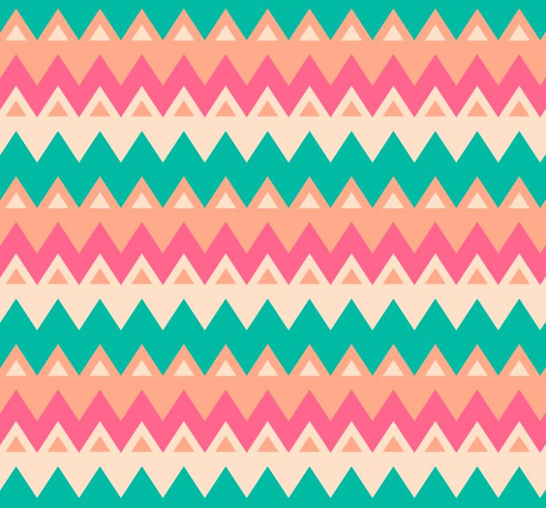 The Color Curve Corrugated Seamless Background Vector