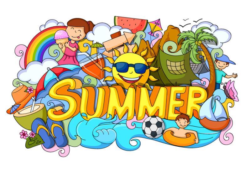 Creative Illustrations Summer Summer Holiday Vector